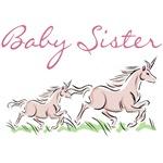 Unicorn Baby Sister