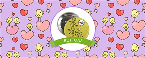 Birdie's Buttons & Magnets