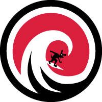 Wave Hound Circle Logo