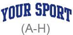 Sport (blue curve A-H)