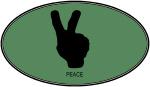 Peace (euro-green)