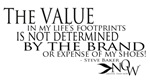 VALUE OF FOOTPRINTS quote