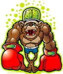Brain Punch Monkey