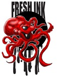 Fresh Ink Octopus