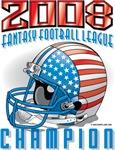 2008 FFL Fantasy Football League Helmet