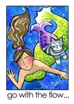 MERMAID AND CAT FISH No. 7