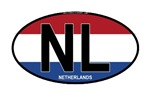 Netherlands Oval Colors