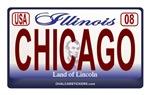 Illinois License Plate - CHICAGO