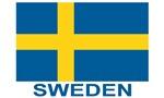 Sweden Flag (w/label)