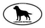 Labrador Retriever Euro Oval