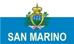 Flag of San Marino (labeled)