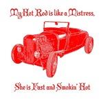 Hot Rod Mistress-Red