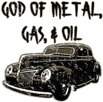 God of metal, gas, & oil-distressed