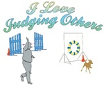 Judging Others Agility T-shirts