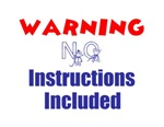 WARNING NO INSTRUCTIONS INCLUDED