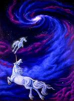 Unicorns in Space by Marc Brinkerhoff