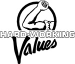 Hard working values