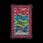 Tribal Ride Eat Party Sleep