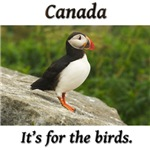 Canada - it's for the birds!