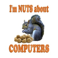 <b>NUTS ABOUT COMPUTERS</b>