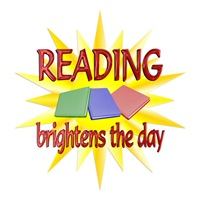 <b>READING BRIGHTENS DAYS</b>