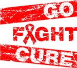 Heart Disease Go Fight Cure Shirts
