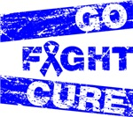 Colon Cancer Go Fight Cure Shirts