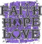 Hodgkins Lymphoma Faith Hope Love Shirts