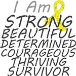 Ewings Sarcoma Strong Survivor Shirts