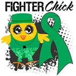 Liver Cancer Fighter Chick Shirts