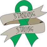Liver Cancer Standing Strong Shirts