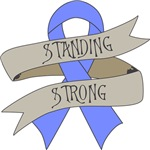 Esophageal Cancer Standing Strong Shirts