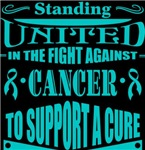 Gynecologic Cancer Standing United Shirts