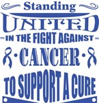 Colon Cancer Standing United Shirts