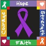 Leiomyosarcoma Courage Hope Shirts