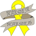 Sarcoma Never Give In Shirts