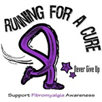 Fibromyalgia Running For A Cure Shirts