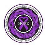 Fibromyalgia Hope Entwined Ribbon Shirts