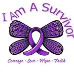 Fibromyalgia I Am A Survivor Shirts