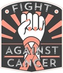 Fight Against Uterine Cancer Shirts