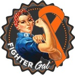 Kidney Cancer Fighter Gal Shirts
