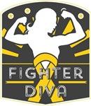 Childhood Cancer Fighter Diva Shirts