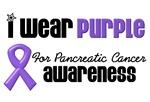 I Wear Purple for Pancreatic Cancer T-Shirts