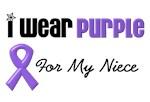 I Wear Purple For My Niece