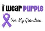 I Wear Purple For My Grandson
