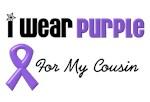 I Wear Purple For My Cousin
