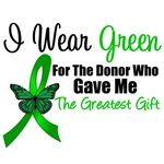 I Wear Green Gift of Life T-Shirts & Gifts