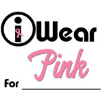 I Wear Pink T-Shirts & Gifts