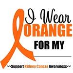 I Wear Orange Kidney Cancer Shirts & Gifts