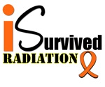 I Survived Radiation Leukemia Awareness T-Shirts